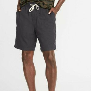 "NWT Old Navy Cast Iron 9"" Drawstring Jogger Shorts"